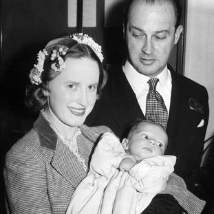 Jane Welby, Gavin Welby and baby Justin