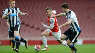 Arsenal midfielder Jack Wilshere impresses on return from injury at the Emirates