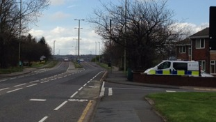 Victoria Road West, where the pedestrian was pronounced dead at the scene
