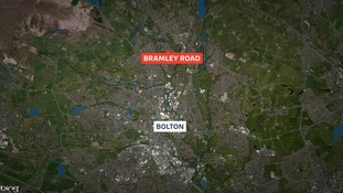 A man and woman are both in a critical condition in hospital after the incident on Bramley Road, Bolton.