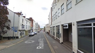 The street where the assault is believed to have taken place.