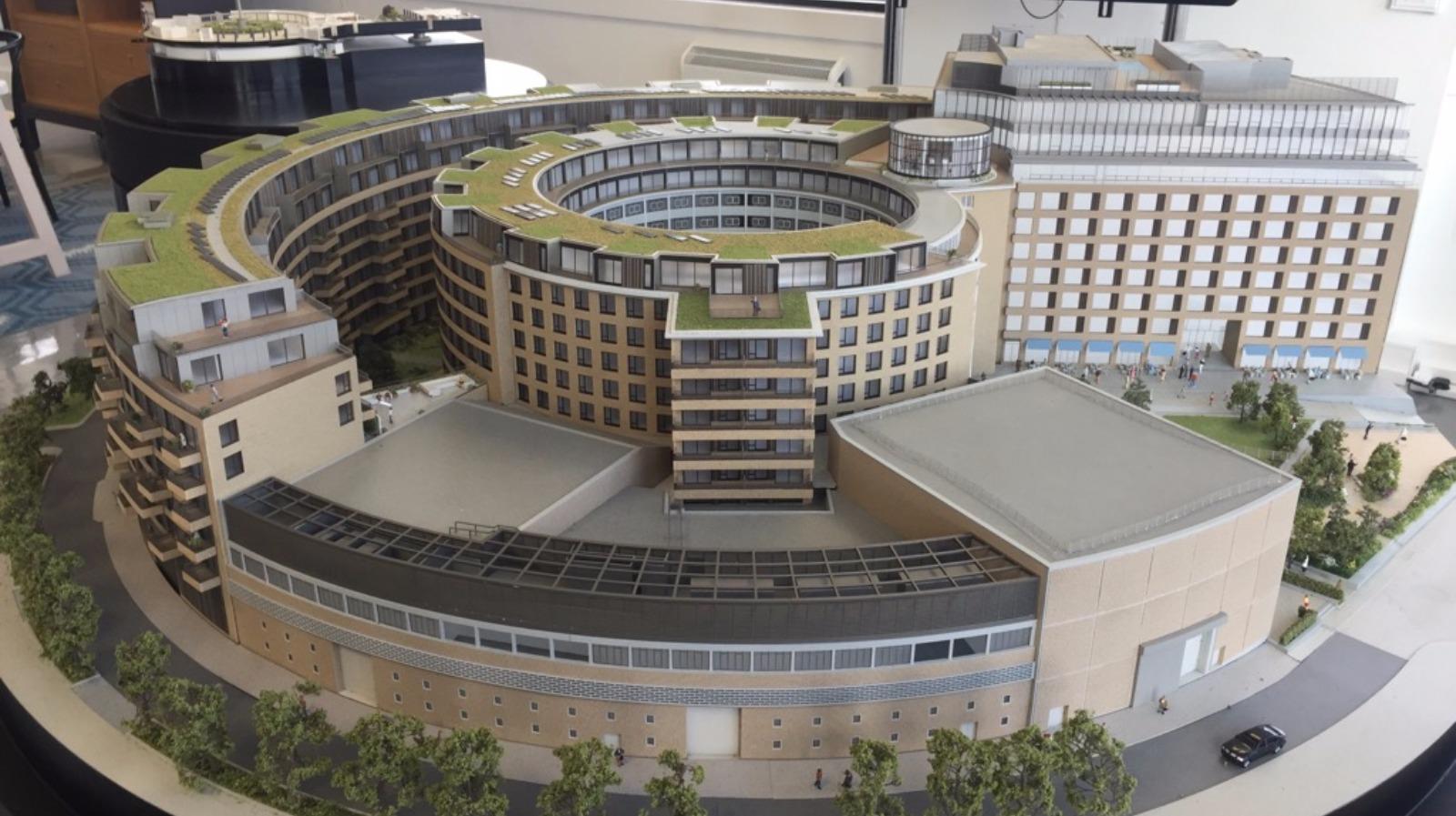 One Bedroom Flats At Former Bbc Tv Centre Start At 163 700k