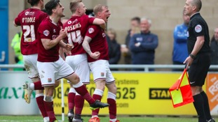 The Cobblers have had a season to remember.
