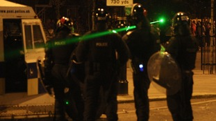 Police report record number of laser-pen related crime