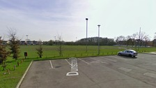 A 25-year-old man is being treated in hospital after being stabbed at playing fields in Braintree, Essex.