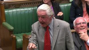 Skinner tells the Speaker: 'I still refer to him as dodgy Dave'.
