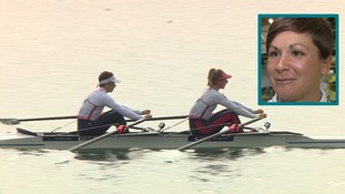 Charlotte Taylor from Bedfordshire is battling for a place in the Olympic rowing team.