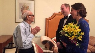 Indian restaurant owner, 93, crowns his career meeting William and Kate