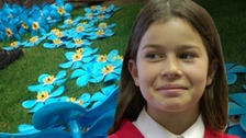 Tallulah Lewis-Schulz will take part in the event at Shrewsbury Castle later today