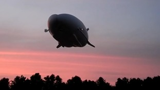 The airship was first developed for the US government as a long-endurance surveillance aircraft.