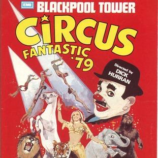 Retro: Blackpool Circus poster