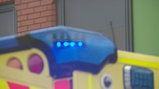 Ambulance blue light