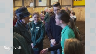 Princess Anne visits Carlisle's Riding for the Disabled Association