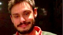 Cambridge University student Giulio Regeni was found dead in Egypt in February.