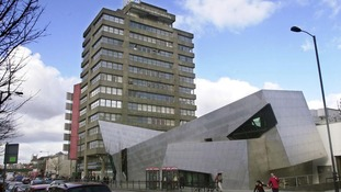 London Metropolitan University's campus on Holloway Road, north London.