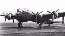 Lancaster pathfinder bomber
