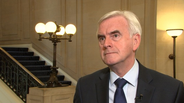 McDonnell: Labour needs to step up EU 'Remain' campaign