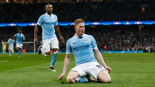 Man City through to Champions League semi-final after beating PSG