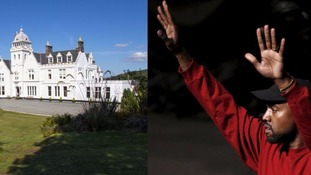 'Perfect guest' Kanye West stays at Scottish country hotel