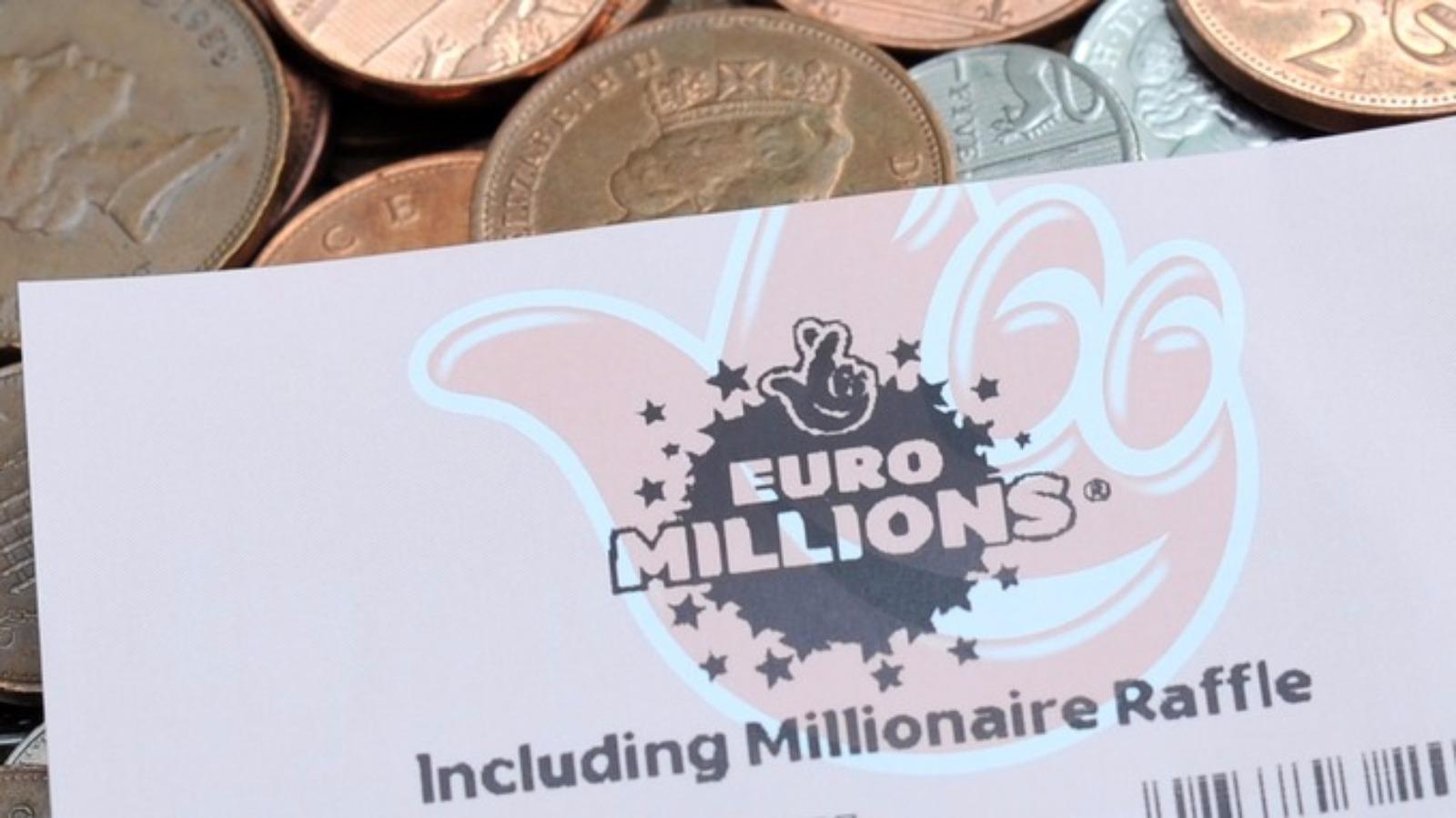 UK ticket holder wins £51.8 million EuroMillions jackpot