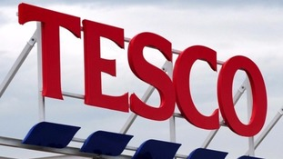 Tesco records first sales growth in three years
