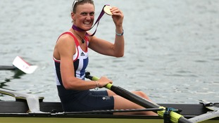 Back at Base for Army Golden Girl Heather Stanning