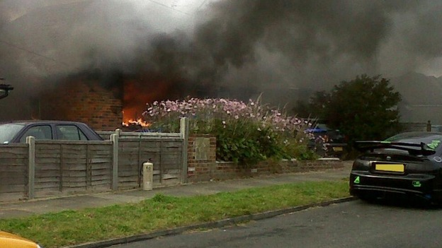 Sompting explosion