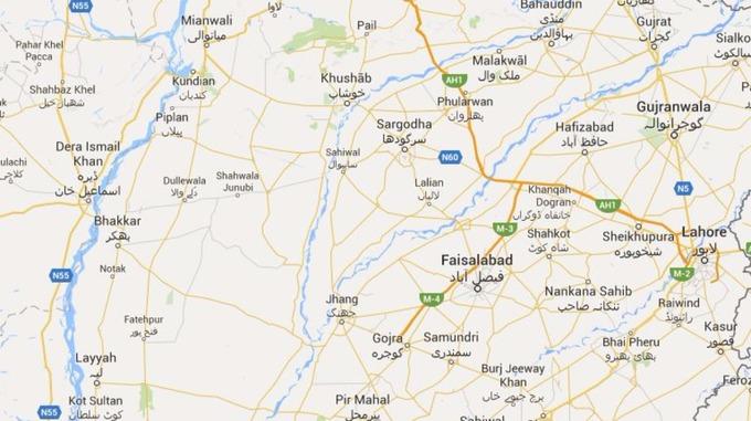 Pakistan Bus Crash Kills Passengers ITV News - Pir mahal map