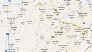 Pakistan bus crash kills 19 passengers