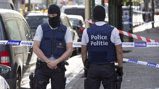 Belgium special forces police