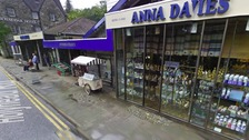 The Anna Davies store in Betws-y-Coed.