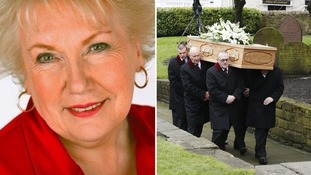 Tributes as Denise Robertson's funeral takes place