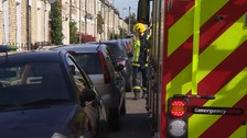 Tight parking in narrow streets can delay fire engines responding to emergency calls.