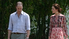 William and Kate at Kaziranga National Park