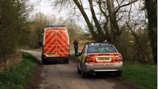 Police at the scene in Howdendyke