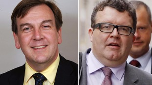 John Whittingdale and Tom Watson