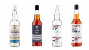 Asda and Aldi recall dark and white rum over fears some may contain glass