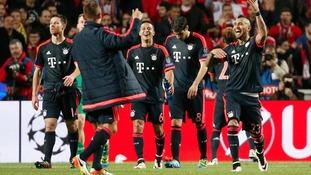 Champions League quarter-final second leg match report: Benfica 2-2 Bayern Munich (2-3 on aggregate)