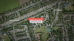 Woman found with serious injuries in Gosford Way, Felixstowe.