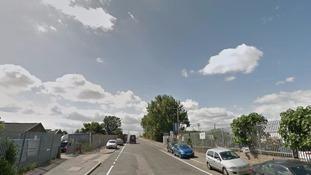 Renwick Road in Barking.