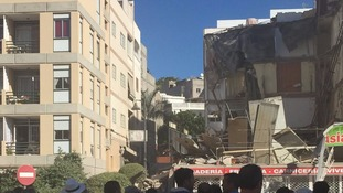 One person has reportedly died in the collapse
