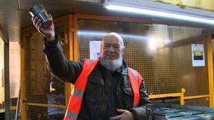 Michael Eavis wanted to support the British steel industry
