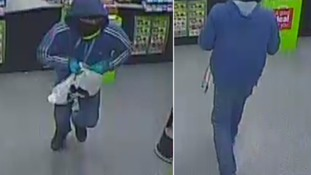 Police release footage of knife-wielding robbers