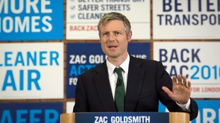Zac Goldsmith wants 50,000 homes being built each year in London by 2020