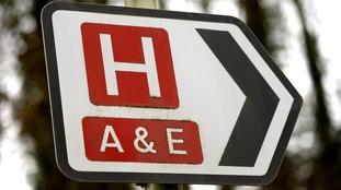 A&E sign