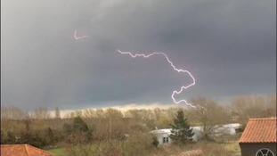 Rain, hail, lightning and a funnel cloud - your pictures