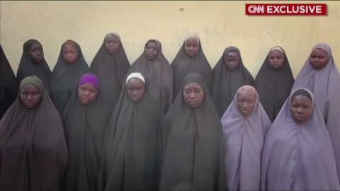 Kidnapped Nigerian girls appear in new 'proof of life' video