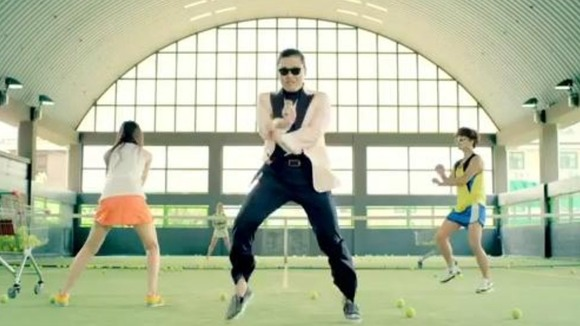 Psy Gangnam style UK charts