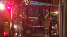 32 firefighters tackled the blaze