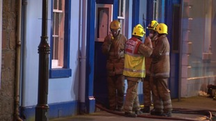 A fire investigation is now underway